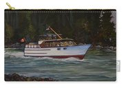 Cruising The British Columbia Gulf Islands, Canada                                       Carry-all Pouch