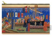 Crusades 14th Century Carry-all Pouch