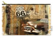 Crusin N Dining On Rt 66 Carry-all Pouch