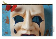 Crying Mask And Red Butterfly Carry-all Pouch