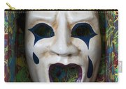 Crying Mask In Box Carry-all Pouch by Garry Gay