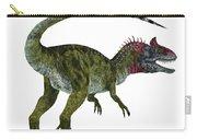 Cryolophosaurus Dinosaur Tail Carry-all Pouch