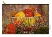 Crystal Bowl Of Fruit Carry-all Pouch