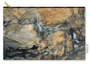 Crystal Cave Marble Formations Portrait Carry-all Pouch