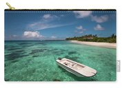 Crystal Clarity. Maldives Carry-all Pouch