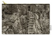 Crystal Mill Marble Colorado Sepia Dsc06944 Carry-all Pouch