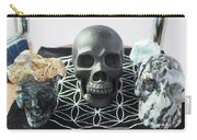 Crystal Skulls Michelangelo, Jesus And Xenia Carry-all Pouch