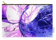 Crystallized Abstract Carry-all Pouch