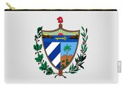 Cuba Coat Of Arms Carry-all Pouch