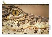 Cuban Croc Smile Carry-all Pouch