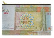 Cuban Peso Carry-all Pouch