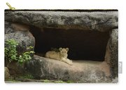 Cubs In Cave Carry-all Pouch