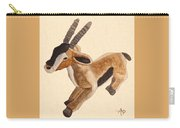 Cuddly Gazelle Watercolor Carry-all Pouch
