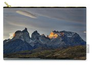 Cuernos Sunset Begins #4 - Patagonia Carry-all Pouch
