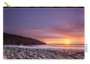 Cullernose Point At Sunrise Carry-all Pouch
