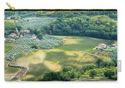 Cultivated Vineyards Tuscany  Italy Carry-all Pouch