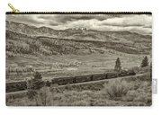 Cumbres Toltec Railroad Nm Sepia Dsc04065 Carry-all Pouch
