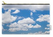 Cumulus Clouds In The Blue Sky Carry-all Pouch