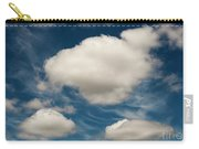 Cumulus Clouds With Nature Patterns Carry-all Pouch