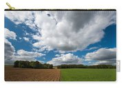 Cumulus Skies In France Carry-all Pouch