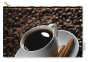 Cup Of Coffe On Coffee Beans Carry-all Pouch