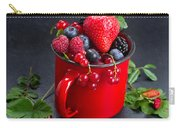 Cup Of Fresh Berries Carry-all Pouch