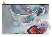 Cup With Cherry Carry-all Pouch