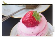 Cupcake With Strawberry Carry-all Pouch