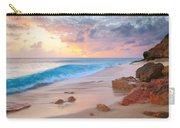 Cupecoy Beach Sunset Saint Maarten Carry-all Pouch