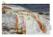 Cupid Spring At Mammoth Hot Springs Carry-all Pouch