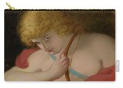 Cupid With Bow Carry-all Pouch