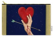 Cupids Arrow Carry-all Pouch by Charles Harden