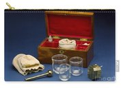 Cupping Set, London, England, C. 1865 Carry-all Pouch