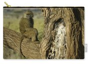 Curious Baboon Carry-all Pouch