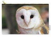 Curious Barn Owl Carry-all Pouch
