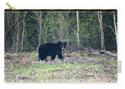 Curious Black Bear  Carry-all Pouch