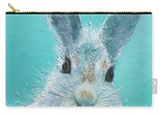 Curious Grey Rabbit Carry-all Pouch