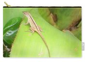 Curious Lizard I Carry-all Pouch