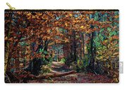 Curious Path In Autumn Carry-all Pouch
