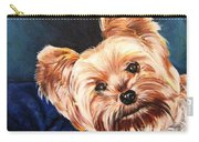 Curious Yorkie Carry-all Pouch