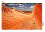 Curling Sandstone Waves Carry-all Pouch