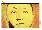 Curly Howard Three Stooges Pop Art Carry-all Pouch