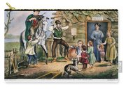 Currier  Ives Folk Tradition Carry-all Pouch by Granger