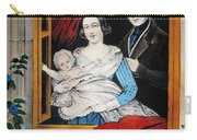 Currier: Marriage, 1848 Carry-all Pouch