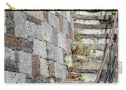 Curved Stone Staircase 235 Carry-all Pouch