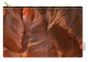 Curves Under The Desert Floor Carry-all Pouch
