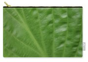 Curvy Leaf Lines Carry-all Pouch