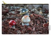 Cluster Of Toadstools  In Fairy Garden Carry-all Pouch