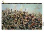 Custer's Last Stand Carry-all Pouch by Edgar Samuel Paxson