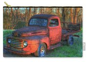 Customized Rust 1949 Ford Pickup Truck Carry-all Pouch